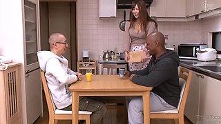 Japanese milf bbc sex