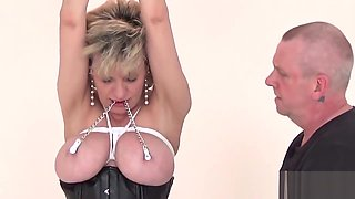 Unfaithful british mature gill ellis presents her massive balloons