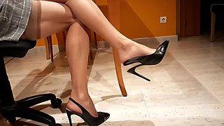 House in heels