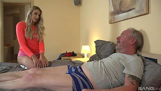 After pussy licking Diane Chrystall is ready for the best orgasm ever