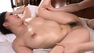 Smoking milf's pussy licked and rides shlong passionately