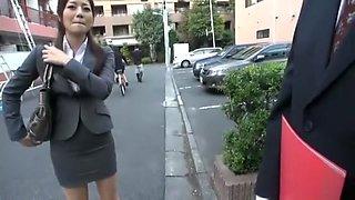 Horny Japanese model Minami Asano in Incredible Facial, Stockings/Pansuto JAV video