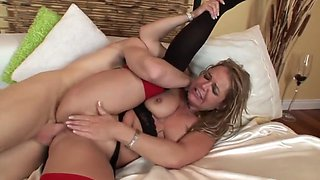 Mommy ass fucked hard