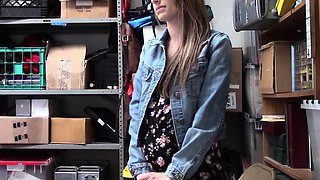 Shoplyfter - Pregnant Teen Punished And Fucked For Stealing