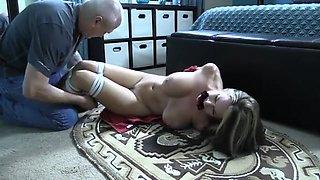 Busty European Doll Jennifer Plays Her Hot Pussy
