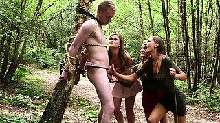 Hot pornstar outdoor with cumshot