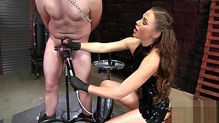 FemdomEmpire - Agonizing Cock Stock Milking