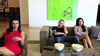 Teen babysitter caught and punished Mommy Loves Movie Day
