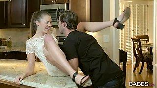 Russian wife Elena Koshka loves to be deeptroethed and fucked