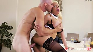 Johnny Sins  Luna Star in Maid Service - DigitalPlayground