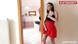 Hot Dirty Nicole Love Fucks With Father Of BF