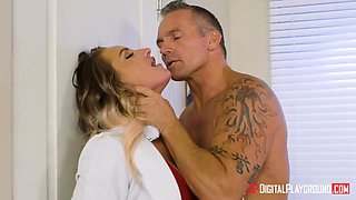 Female Doctor Boss Gets Deepthroated And Sodomized - Marcus London And Cali Carter