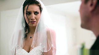 Bride to be fucks brother of groom on her wedding day