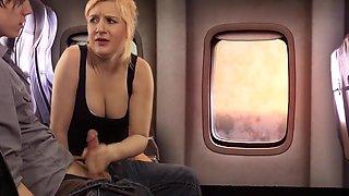 Taboo Airplane Blowjob Step Sister Fifi Foxx