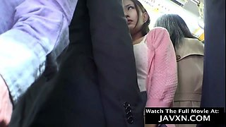 Japanese Babe Fucked On The Bus