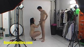 Fresh 18yo at her absolutely first casting