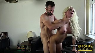 Blonde Cindy Sun enjoys getting dominated and fucked roughly