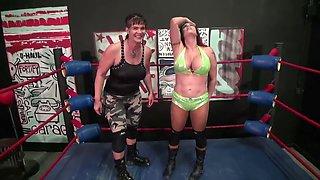 Pie wrestling match
