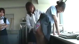 ASIAN GIRLS GETTING ASS SPANKING