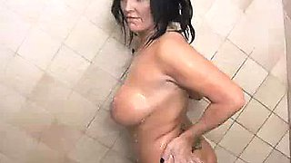 Step-son Notices His Step-mom Naked In The Shower
