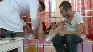 Babe is surrending her virginity