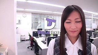 Horny homemade Secretary, Office sex clip