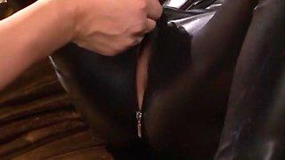 Fabulous Japanese chick Maki Koizumi in Hottest Cunnilingus, Fetish JAV video