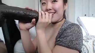 Asian mother black cock