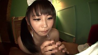 Crazy Japanese slut Akane Yoshinaga in Exotic big tits, compilation JAV clip