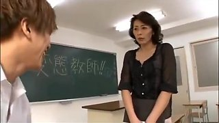 Japanese Teacher Molested By Her Students