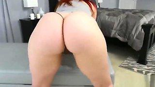 Curvy redhead gets big black dick