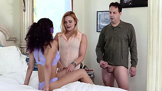 Fucking my duddy's step daughter and dad fucks ' before scho