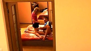 Amateur teen with small boobs gets nailed hard on hidden cam