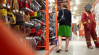 Flashing in the hardware store