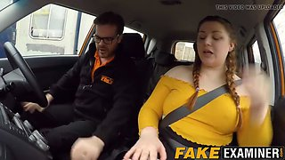 Fake driving school fucks bbw