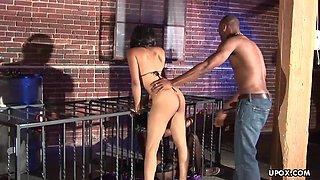 Aaliyah Justice had one of the kinkiest threeso