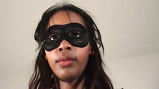 Private facesitting session with black lady