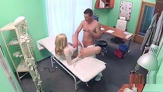 Big cock doctor between patients legs