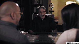 Priest Fucks Bride During Her Confession