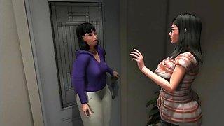 Housewife animation episode 5