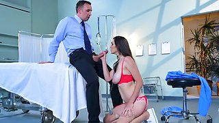 Horny boss wants to her his beautiful new employee
