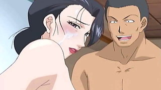 MILF gets DP from two muscular gardeners - Hentai Uncensored