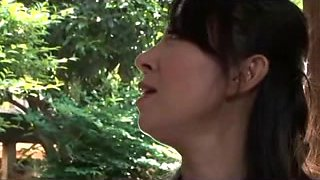 Hot porn video with a naughty Japanese cougar