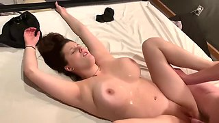Hot Wife Thanks Two Veterans By Riding Cock in 4K