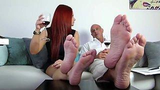 Mz.Devious Foot Cuckold