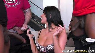 DP MILF Anissa Kate Cuckolds Nerdy Hubby A.S.A.P.!