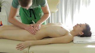 Massage Fun With Hot Teen