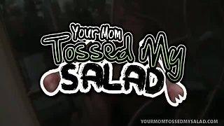 Busty MILF Sindi Star Fucks Son\'s Boss n\' Tosses Salad!