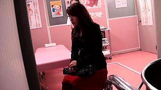 Asian Japanese Fake Gyno Doctor Exam Girls Spycam