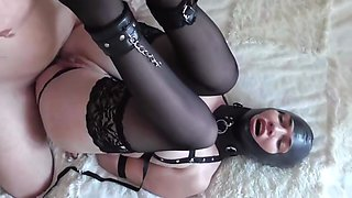 He anally abused his tied up wife